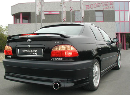 booster bagrudespoiler toyota avensis t22 sedan. Black Bedroom Furniture Sets. Home Design Ideas