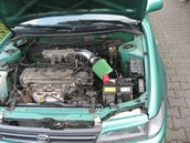 Green Extreme injection kit Toyota Corolla E10 1.3